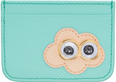 Sophie Hulme Ssense Exclusive Blue Cloud Rosebery Card Holder