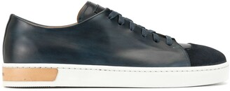 Magnanni Low-Top Leather Sneakers