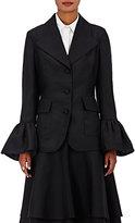 Co Women's Fine Faille Jacket-BLACK