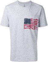 Parajumpers flag print T-shirt - men - Cotton - L