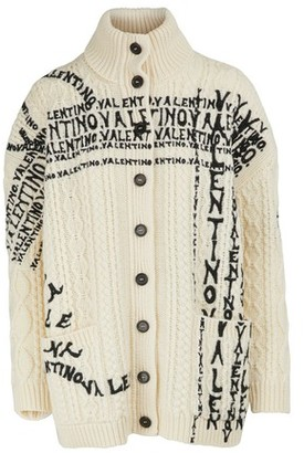 Valentino Embroidered cardigan