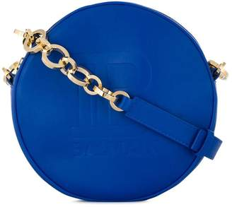 Balmain mini Disco logo crossbody bag