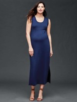 Gap Rolled sleeve maxi dress