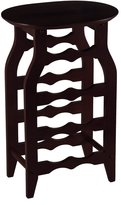 Winsome Wood Oval Wine Rack