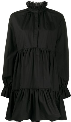 Philosophy di Lorenzo Serafini Gathered Flared Mini Dress
