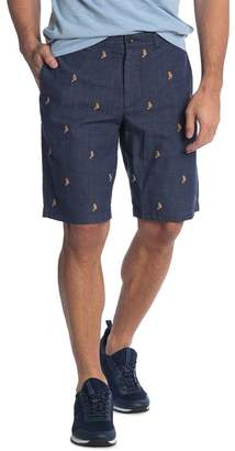 J.Crew J. Crew Seahorse Embroidered Shorts