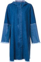 Le Ciel Bleu 'Cut Off Mods' denim coat