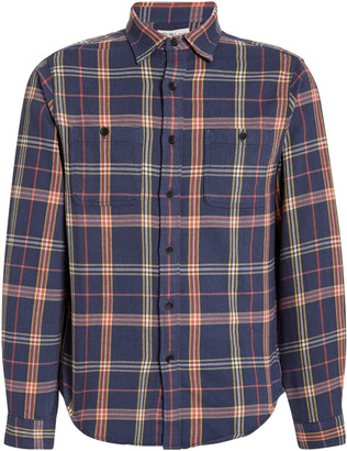 Alex Mill Checked Cotton-Poplin Shirt