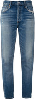 Citizens of Humanity Liya high-rise classic fit jeans - women - Cotton/Rayon - 26