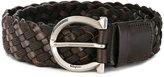 Salvatore Ferragamo woven buckle belt