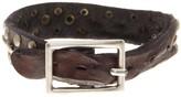 Tommy Bahama Triple Rivet Leather Bracelet