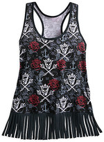 Disney Pirates of the Caribbean Fringed Tank Top for Women by Boutique