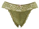 Charlotte Russe Plus Size Scalloped Lace Cheeky Panties