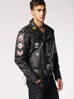 Diesel DieselTM Leather jackets 0BAQA - Black - L