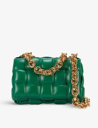 Bottega Veneta The Chain Cassette Intrecciato leather bag