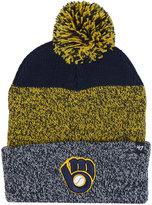 '47 Milwaukee Brewers Static Pom Knit Hat