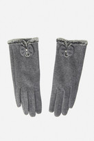 Fashion to Figure Nadie Faux Fur Lined Tech Gloves
