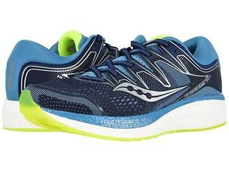 Saucony Hurricane ISO 5 (Navy/Citron) Women's Shoes