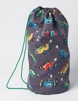 Boden Printed Drawstring Bag