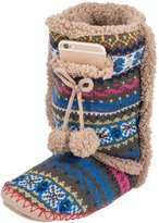 Minx Boot style Slipper Socks with cell phone pocket and extra cushion