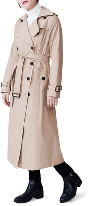 Universal Standard Tirsa Water Resistant Trench Coat