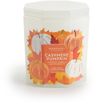 ScentWorx Cashmere Pumpkin 14.5 oz. Candle