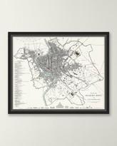 Italian Map Series - Rome