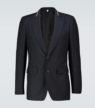 Burberry Icon stripe wool-mohair blazer