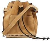 Altuzarra Espadrille Suede Bucket Bag - Womens - Beige Multi