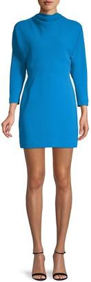 A.L.C. Marin Cowl-Neck Mini Dress