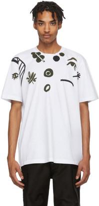 Marni White Graphic T-Shirt