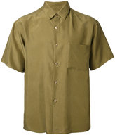H Beauty&Youth short sleeved shirt - men - Silk - S