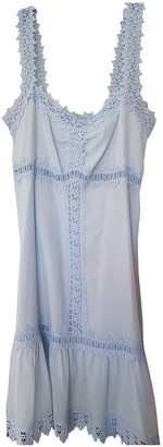 Charo Ruiz Ibiza Turquoise Cotton Dresses