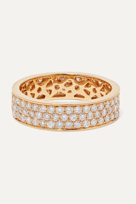 Ofira Cluster 18-karat Gold Diamond Ring - 6