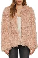Willow & Clay Shaggy Faux Fur Jacket