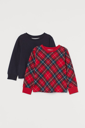 H&M 2-Pack Cotton Sweatshirts