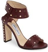 Jimmy Choo Women's Veto Studded Ankle Cuff Sandal