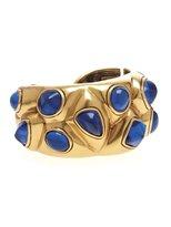Oscar de la Renta Geometric Resin Stone Bracelet