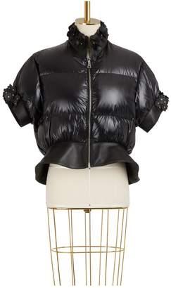 Noir Kei Ninomiya Moncler Genius 6 Moncler Onyx down jacket