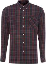 Merc Long Sleeve Tartan Check Shirt