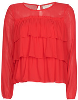 Moony Mood MELISS women's Blouse in Red