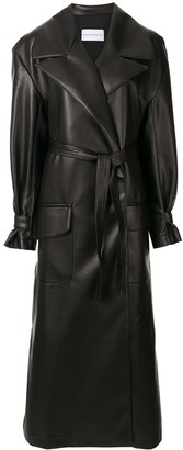 Strateas Carlucci Meta oversized trench coat