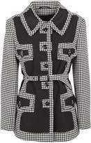 Maison Margiela Checked Pattern Trench