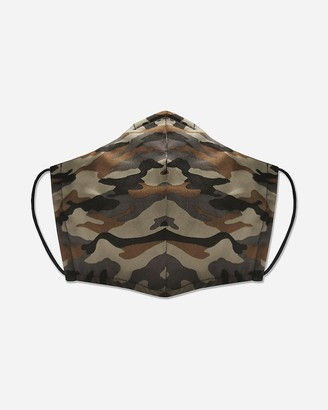 Express Pocket Square Clothing Camo Print Unity Face Mask