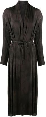 Masnada Tie-Dye Rob Coat