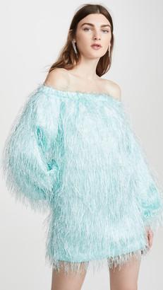 Rotate by Birger Christensen Gloria Feather Dress