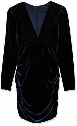 BCBGMAXAZRIA Women's Ruched Mini Dress