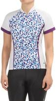 Sugoi Dot Cycling Jersey - UPF 20, Zip Neck, Short Sleeve (For Women)