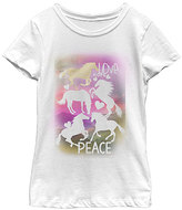 Fifth Sun White Horse 'Love Hope Peace' Tee - Girls