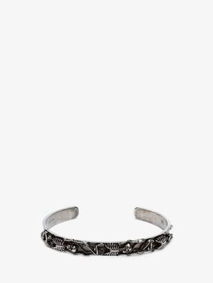 Alexander McQueen Dancing Skeleton Bracelet